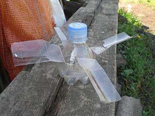 Из пластиковых бутылок своими руками ветряк
